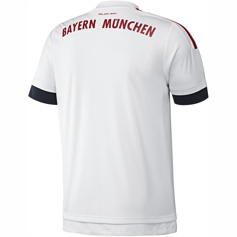 adidas fc bayern trikot 2015 2016 away erw 42 48. Black Bedroom Furniture Sets. Home Design Ideas