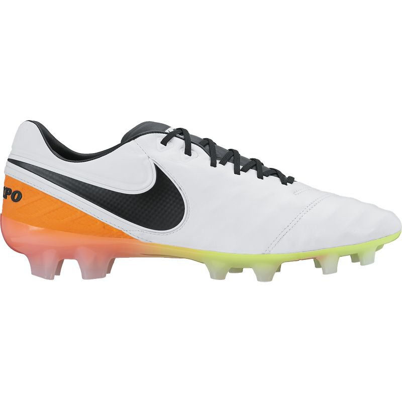 Nike Tiempo Legend VI FG - white/total orange