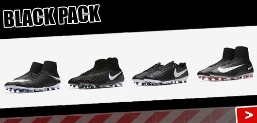 Die Nike Black Pack 2017/2018 Schuhe