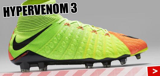 Nike Hypervenom 3 mit dem Phantom