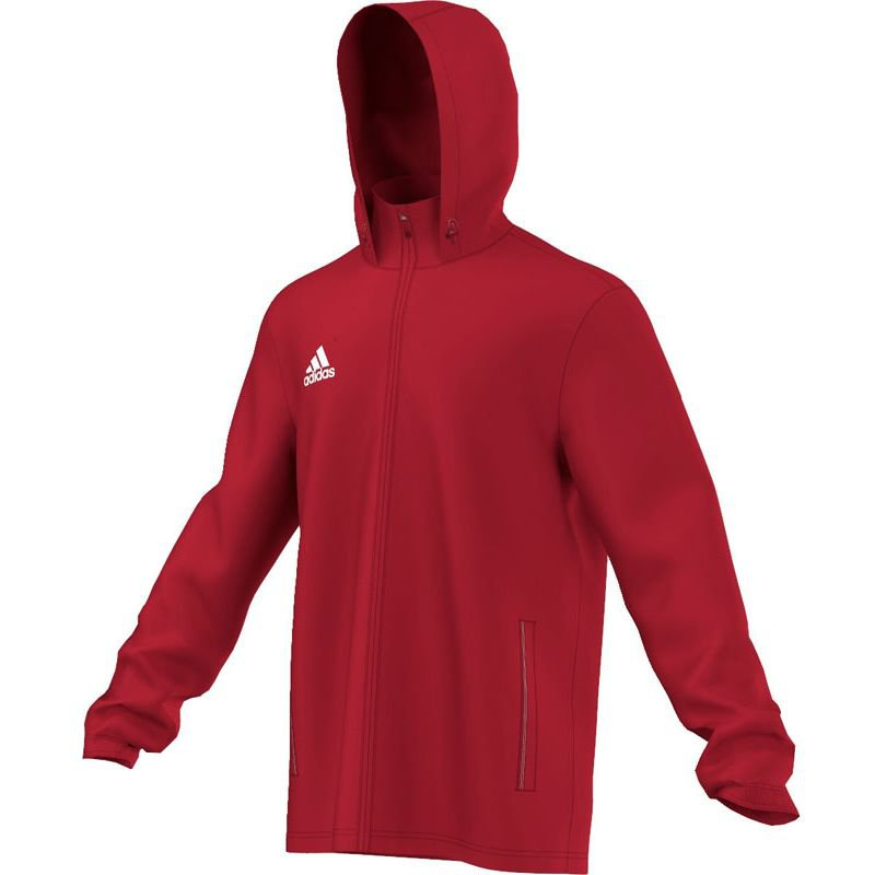 Adidas Core 15 Regenjacke - power red/white - Erw