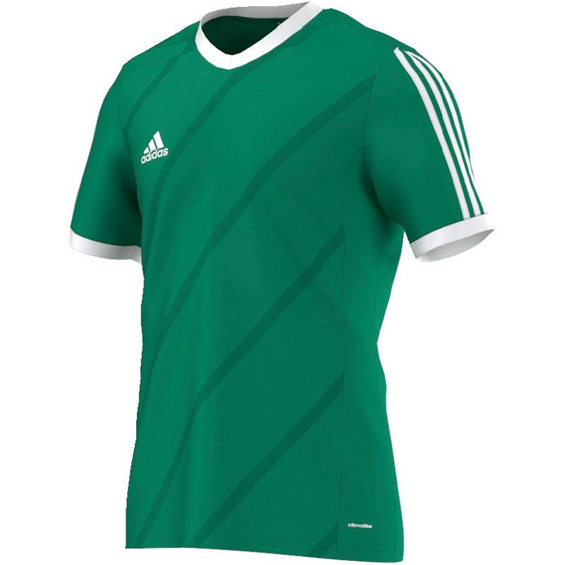 Adidas Tabela 14 Trikot - twilight green/white - Ki