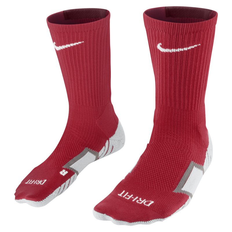 Nike Team Stadium II Crew Sock  - university red/team - Erw