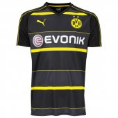 Puma BVB Away Trikot 2016/2017 - black-cyber yellow - Größe S