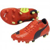 Puma evoPower 1 FG red Gr. UK 8 = D 42