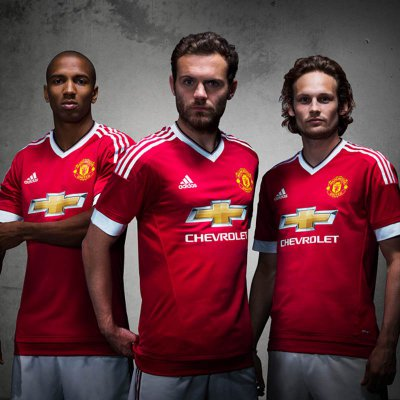 Adidas Man United Trikot 2015/2016 Home - Erw