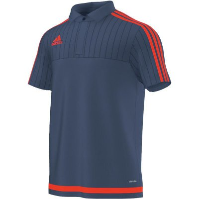 cheapest best deals on separation shoes Adidas Tiro 15 Polo - night marine/solar red - Erw, 18,98 €