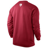 Nike Foundation 12 Sweat Top  - university red/black - Erw