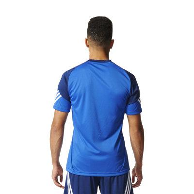 Adidas Sereno 14 Polyesteranzug cobalt new navy weiß