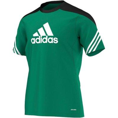 Adidas Sereno 14 Training Jersey - twilight green/black - Erw