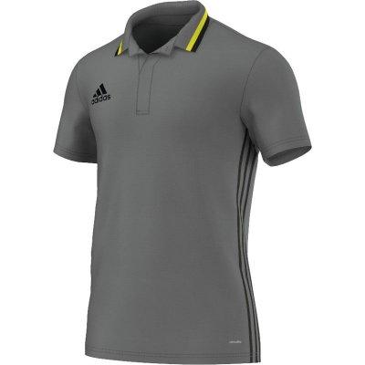 Adidas Condivo 16 Polo - vista grey s15/black - Erw