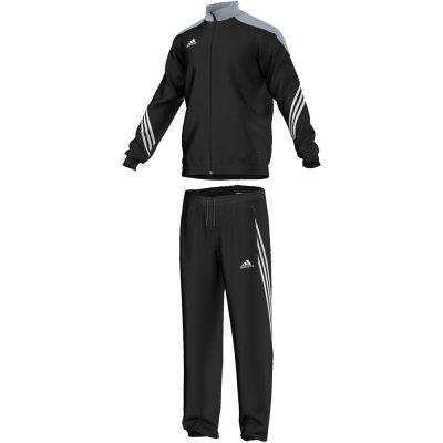 Adidas Sereno 14 Polyesteranzug - black/siler - Erw