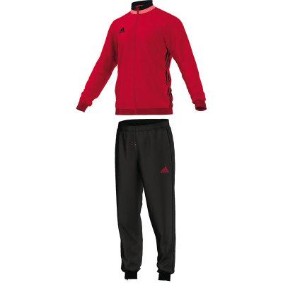 Adidas Condivo 16 Polyesteranzug - scarlet/black - Erw