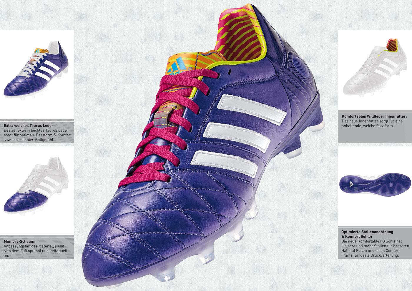Adidas Fußballschuhe der adipure Line