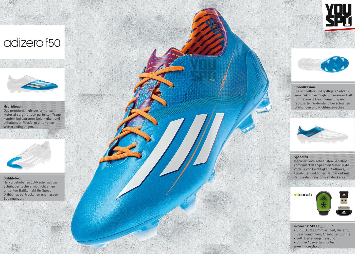 Adidas F50 adizero IV Fußballschuhe