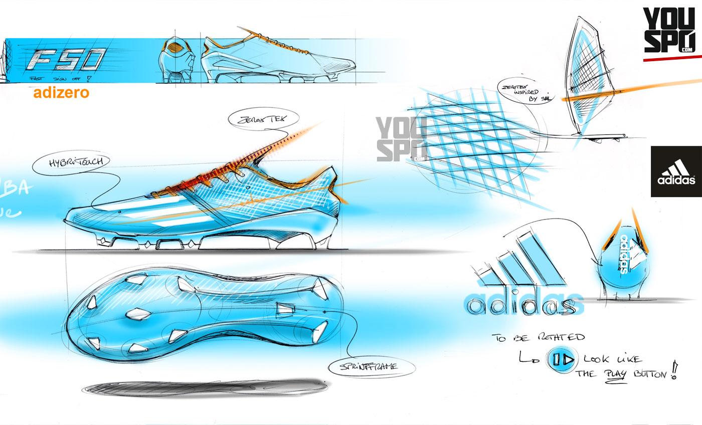 Adidas F50 adizero IV Konstruktion