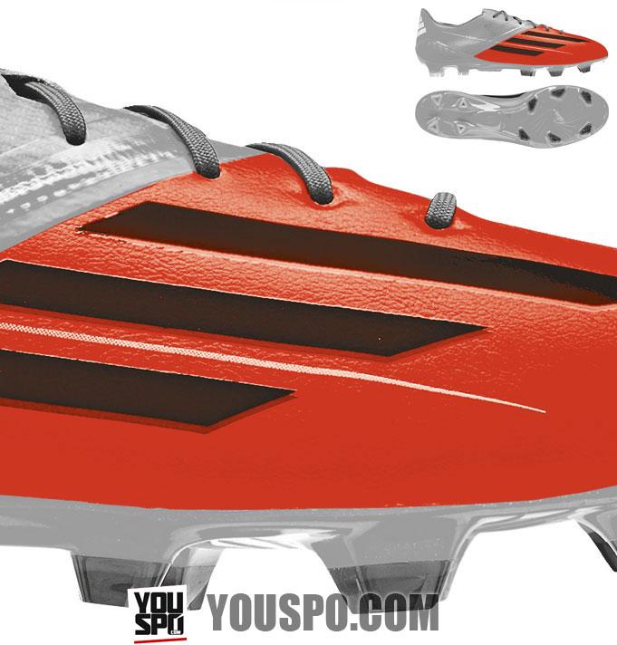 Adidas Hybridtouch Leder Sythetik Material für Fußballschuhe