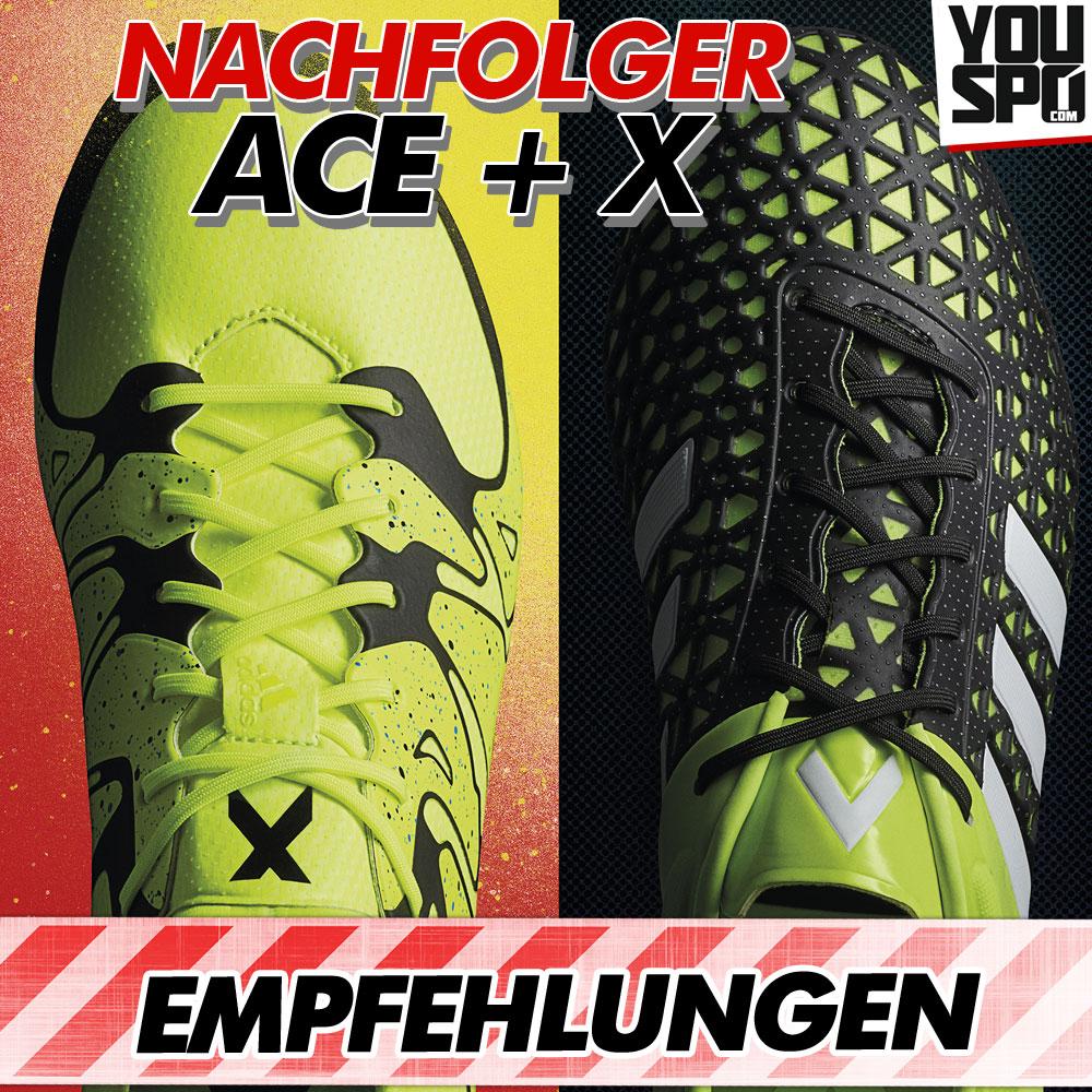 Adidas Ace und Adidas X Kaufempfehlungen für Fußballschuhe
