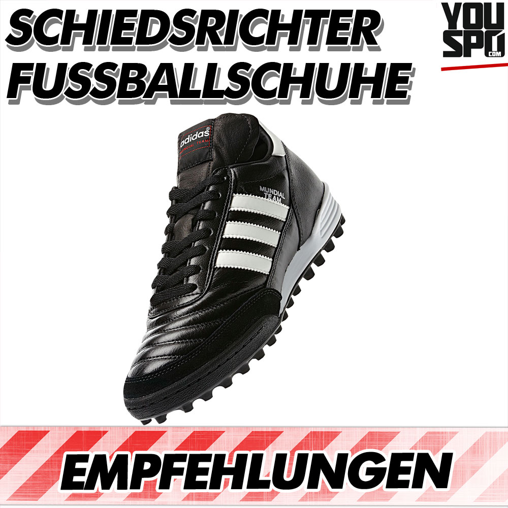 Jetzt Fußballschuhe für Schiedsrichter von Adidas, Nike oder auch Puma kaufen
