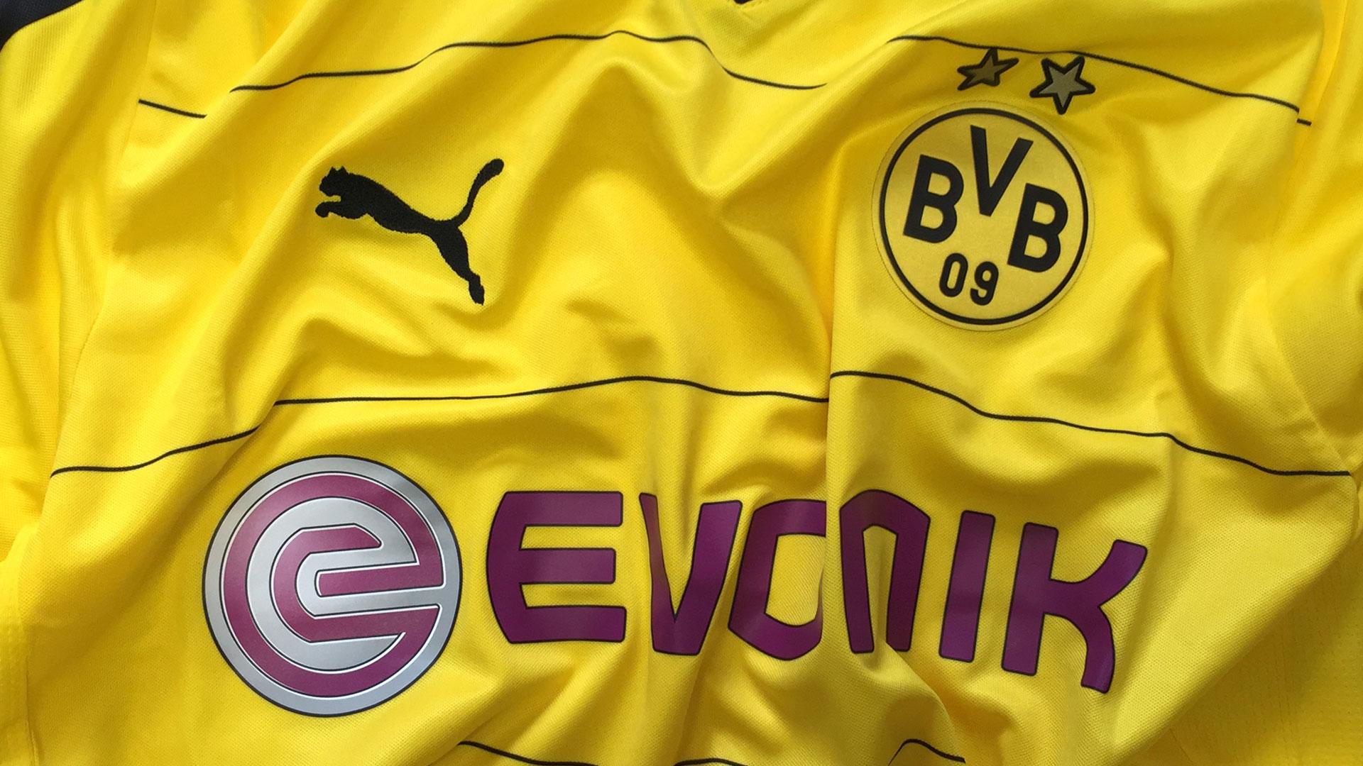 Borussia Dortmund Heimtrikot mit Sponsor 2015/2016