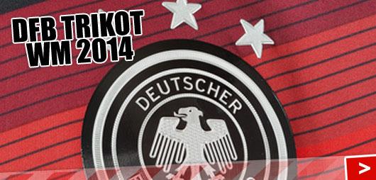 DFB Trikot 2014/2015 von Adidas als Heimtrikot der WM 2014