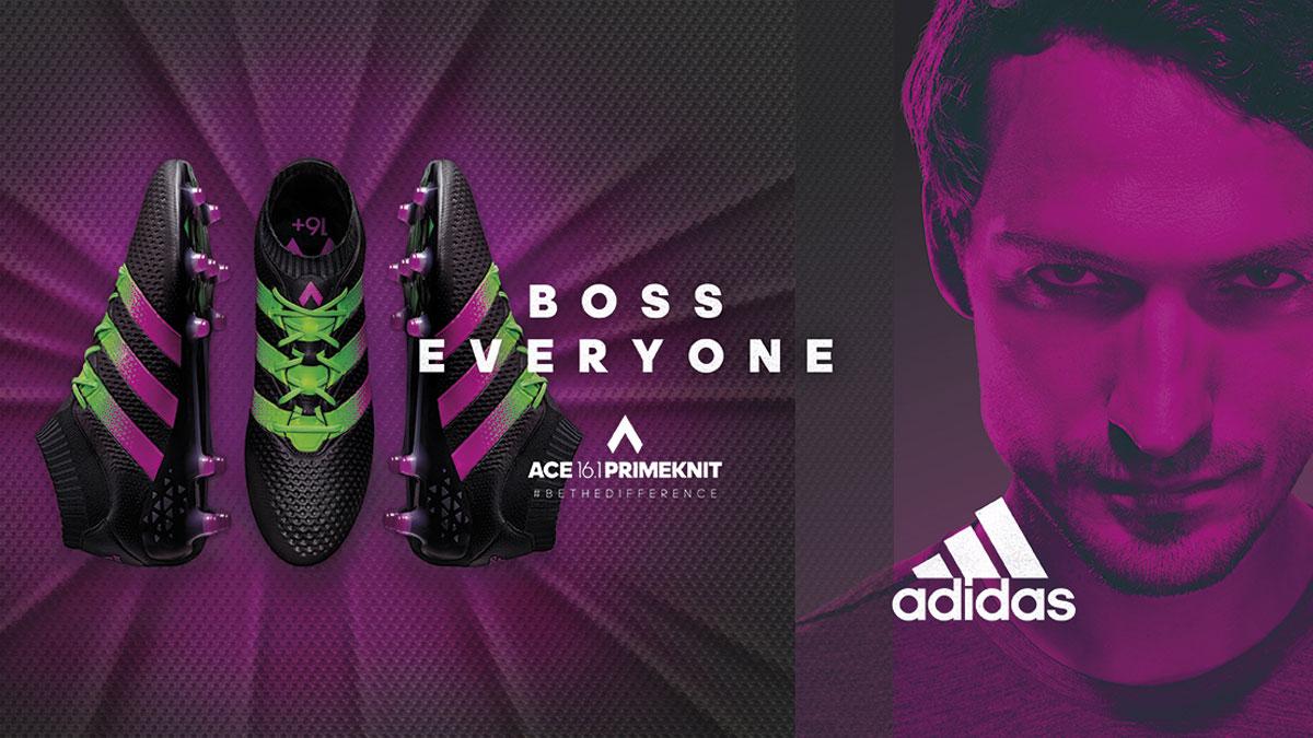 Adidas Ace 16 Fußballschuhe mit Ace 16.1 und Ace 16.2