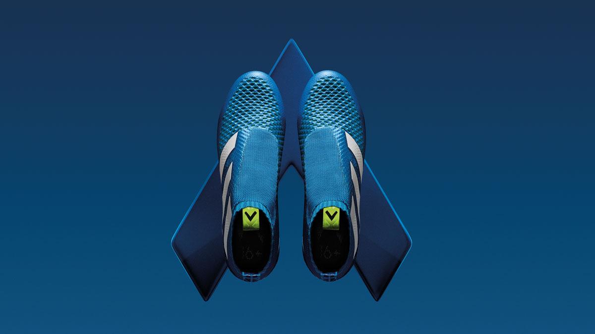 Adidas Ace 16 Schuhe für den Boss auf dem Platz