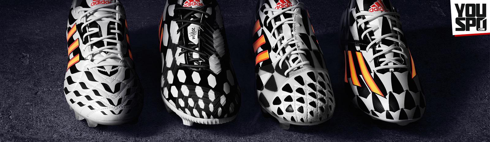 Adidas Battle Pack WM 2014 Fußballschuhe