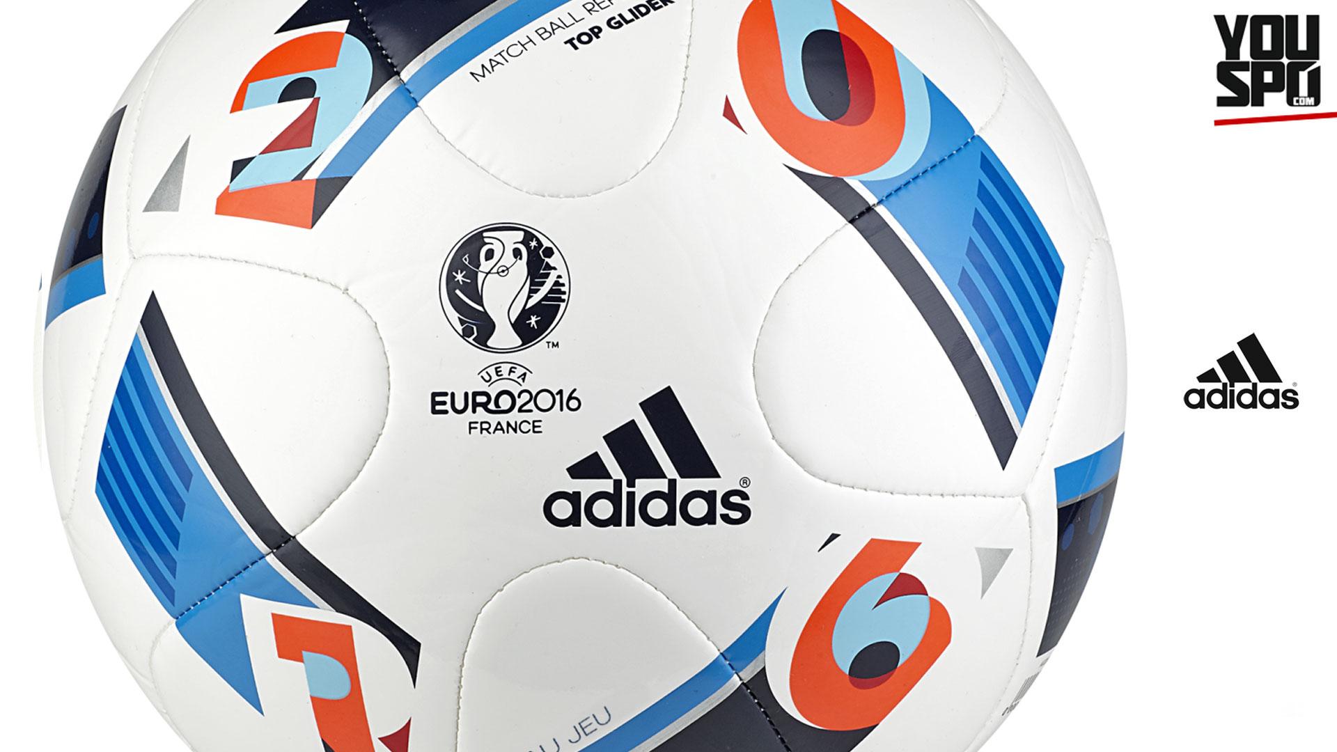 Adidas EM 2016 Top Glider Ball - Beau Jeu -