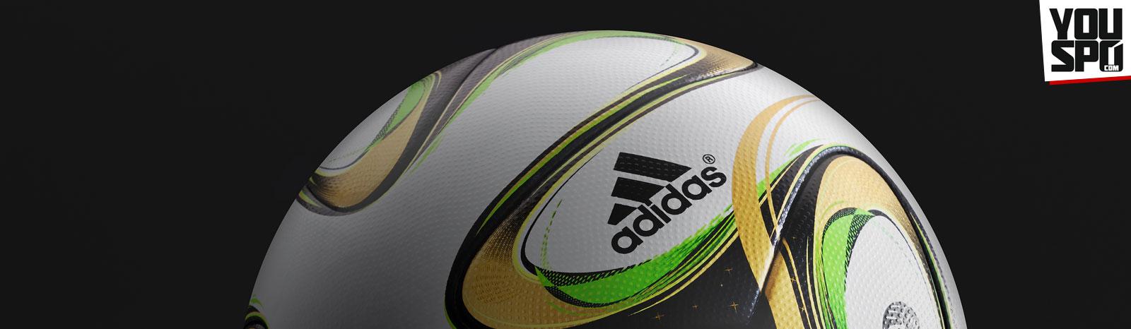 Adidas Brazuca Finale Rio Spielball für das WM 2014 Endspiel