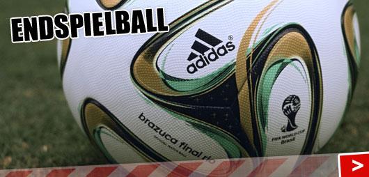 Adidas Brazuca Finale Rio WM 2014 Endspielball