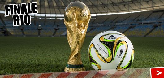 Adidas WM 2014 Endspielball Brazuca Rio als OMB Endspielball
