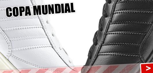 Adidas Copa Mundial in komplett weiss und komplett schwarz