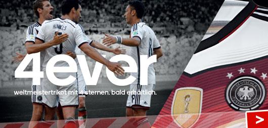 Adidas DFB Fanartikel mit 4 Sternen