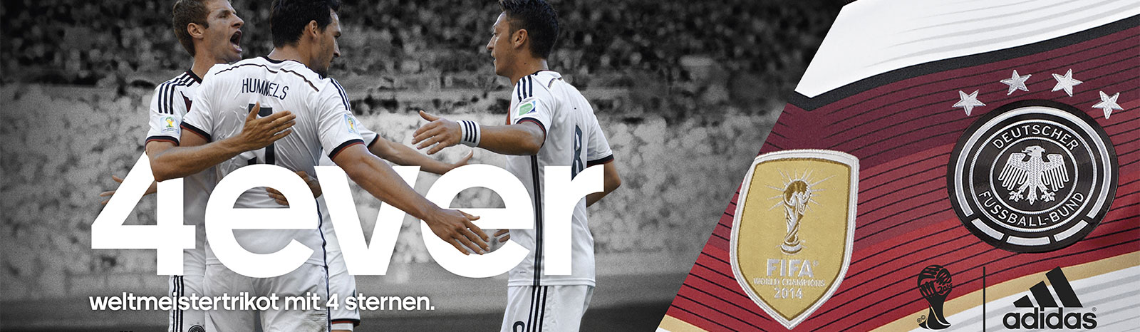 Adidas DFB 4 Sterne Fanartikel 4ever