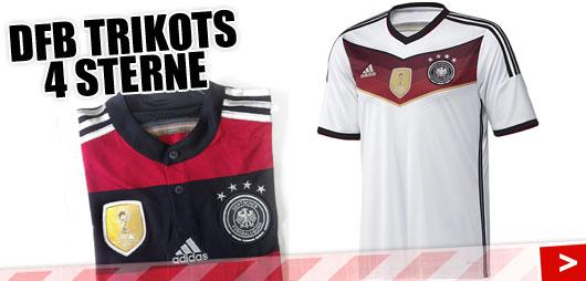 Adidas DFB 4 Sterne Trikots
