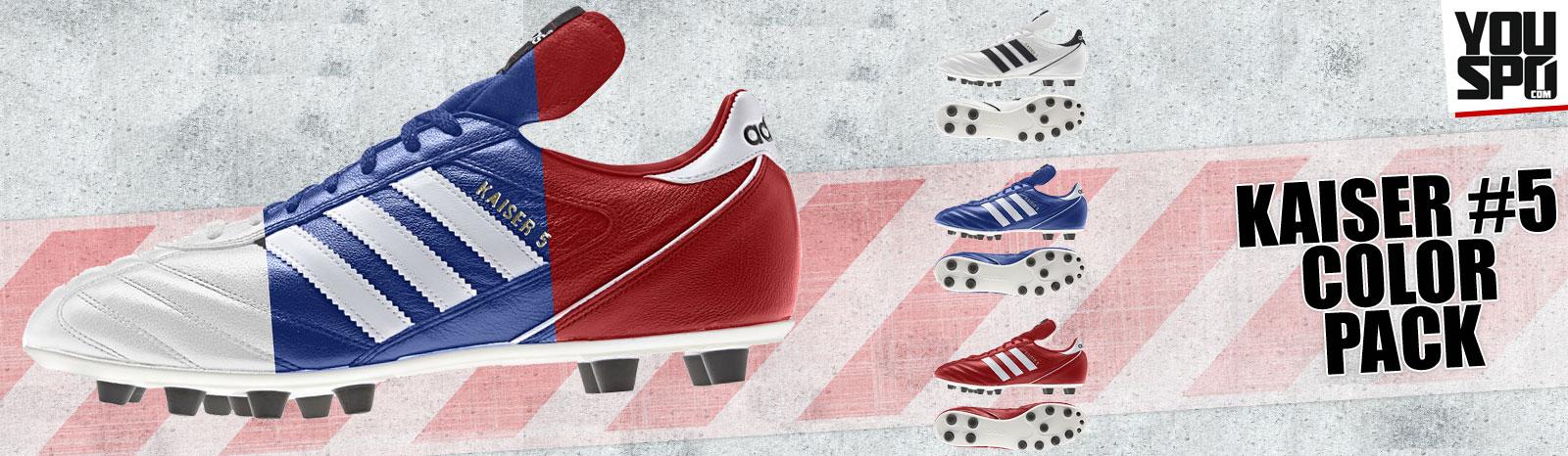 Adidas Kaiser 5 in Farbe
