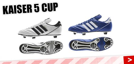 Adidas Kaiser 5 Cup in weiß und blau