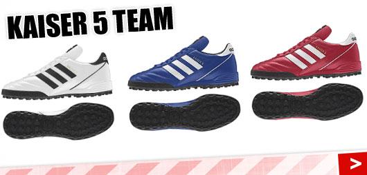 Adidas Kaiser 5 Team in weiß blau und rot