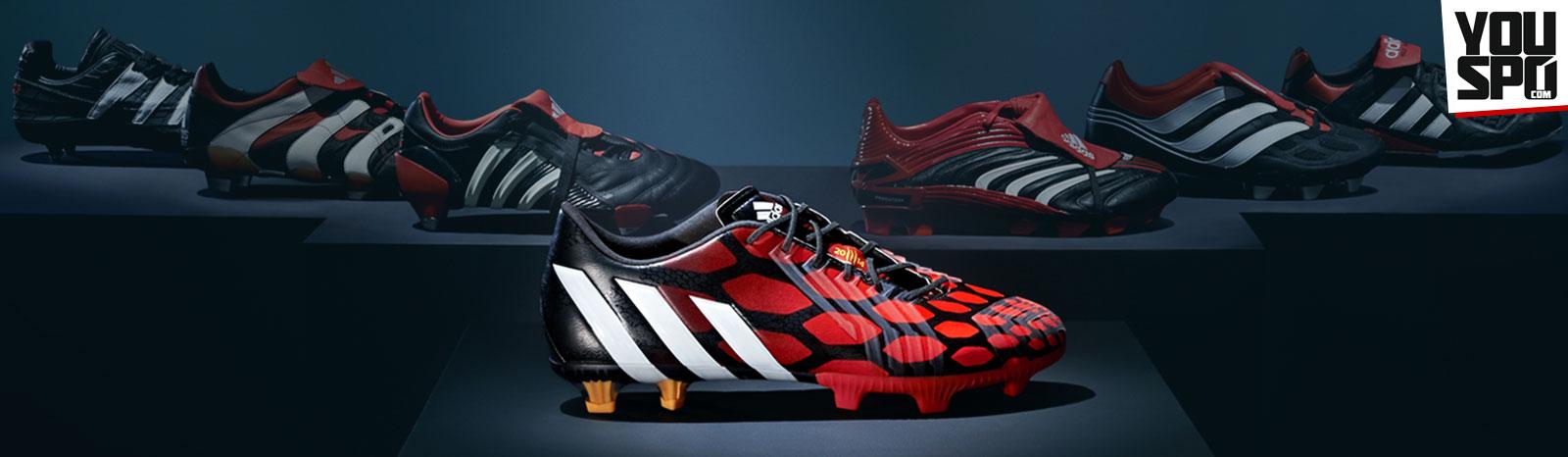Adidas Predator Evolution zum Instinct TRX FG Fußballschuhe in infrared/black