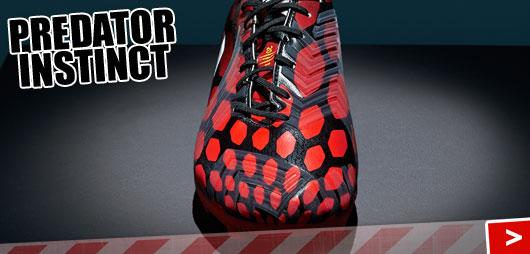 Adidas Predator Instinct Fußballschuhe in infrared