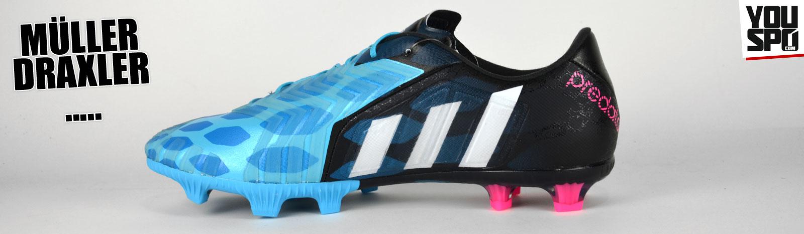 Adidas Predator Instinct von Thomas Müller und Julian Draxler