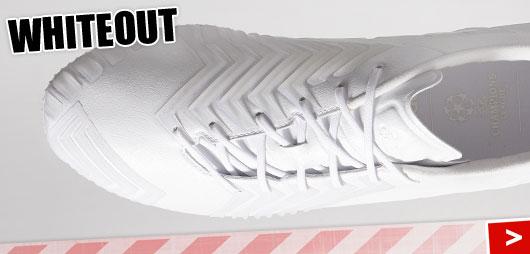 Adidas Predator Instinct Whiteout komplett weiß