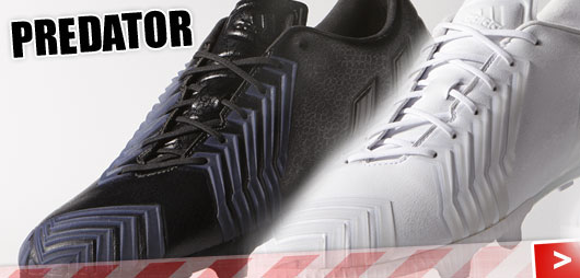 Adidas Predator Instinct Blackout und Whiteout