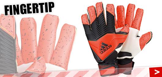 Adidas Predator Zones Fingertip mit Rollfinger-Schnittform als Torwarthandschuhe