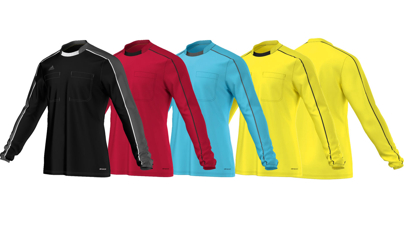 Adidas Referee 16 Jersey Long Sleeve (Langarm) in 4 Farben kaufen