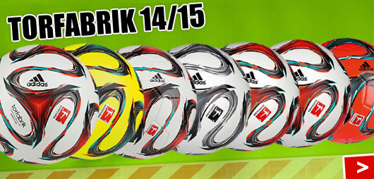 Adidas Torfabrik 2014/2015 Bälle