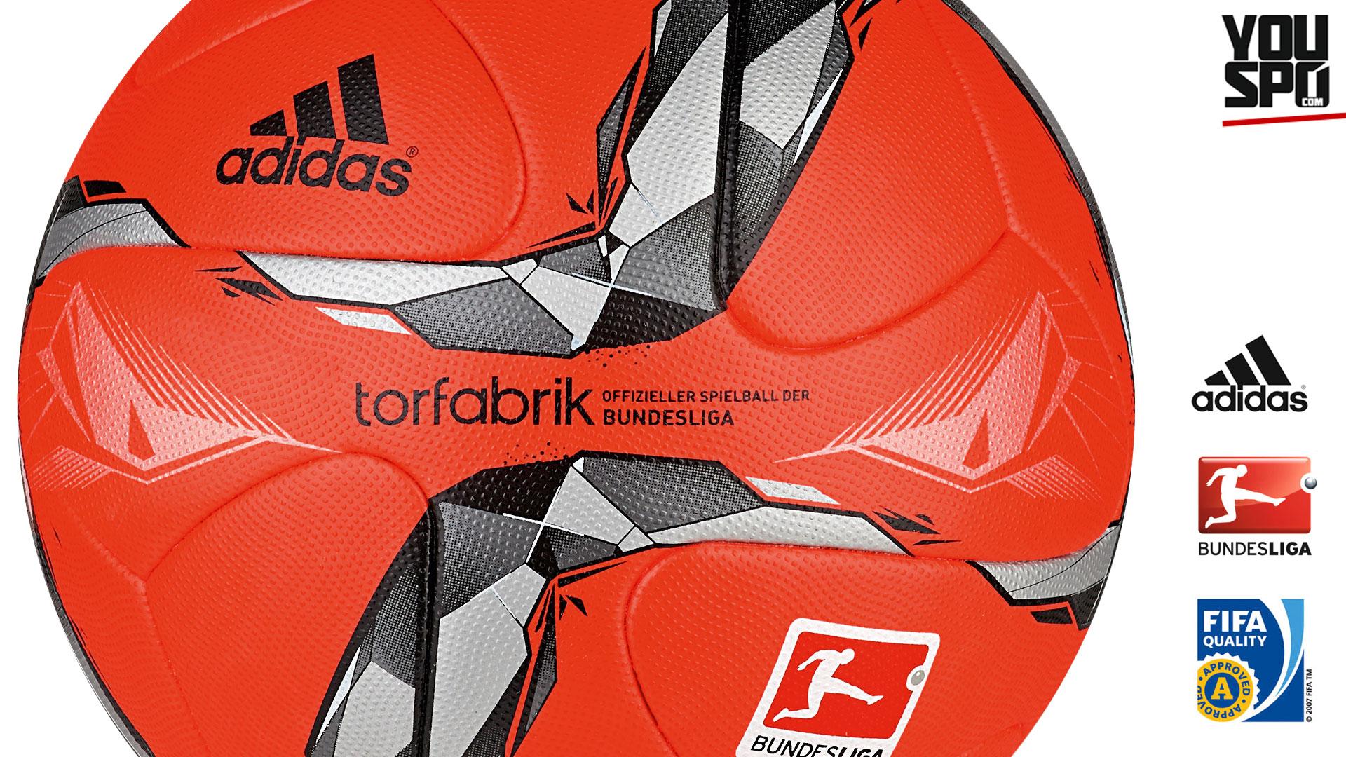 Adidas Torfarbik OMB 15/16 Winterball/Spielball (2015-2016)