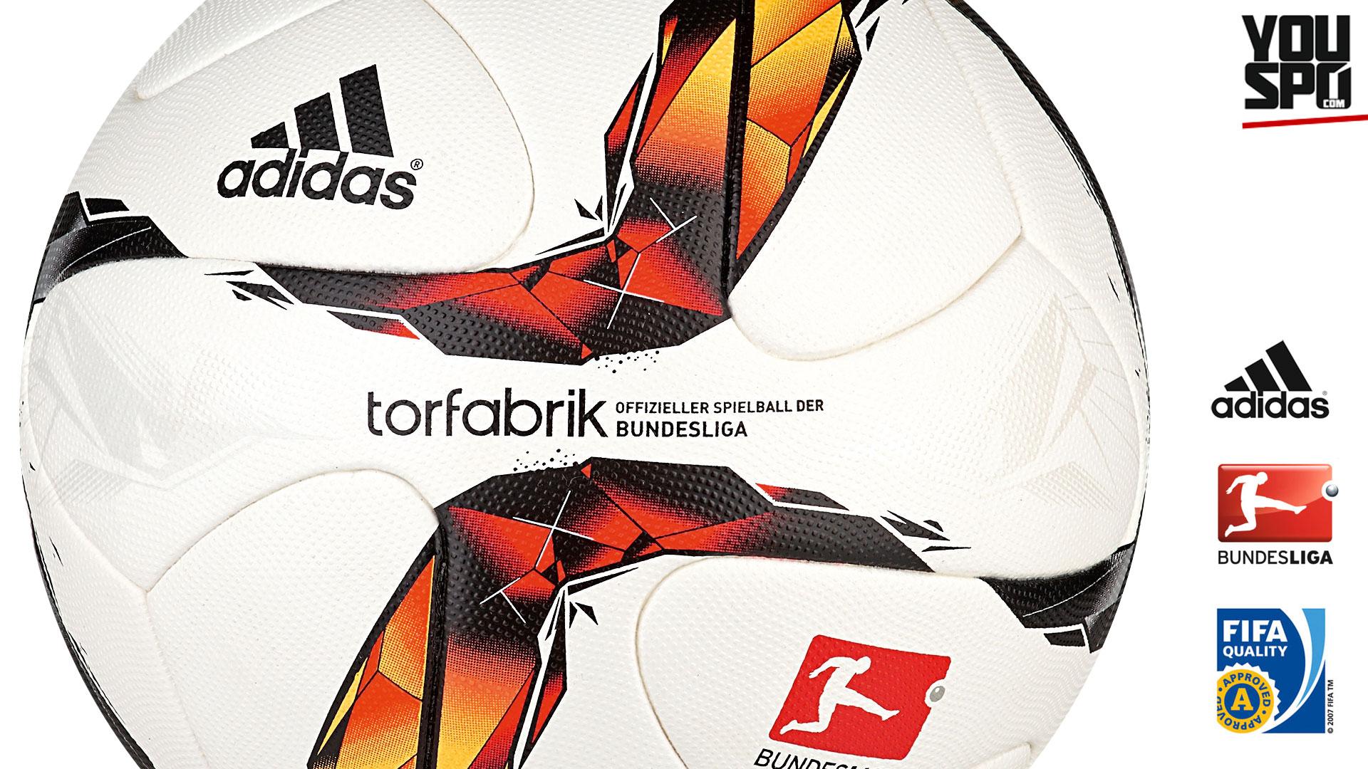 Adidas Torfarbik OMB 15/16 Matchball/Spielball (2015-2016)