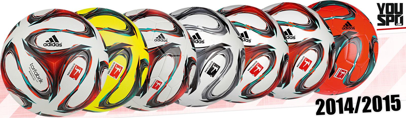Adidas Torfabrik 2014/2015 Fußbälle